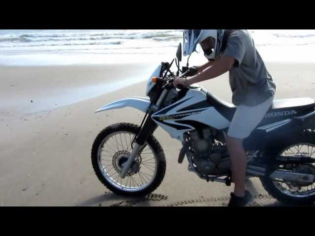 Primera Vez En Moto First Time On A Motorcycle Honda Xr 250