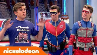 Kid Danger & Captain Man 🆚 The Thumb Buddies | Henry Danger | Nick