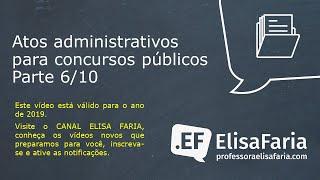 AULA 064 - Atos Administrativos parte 5