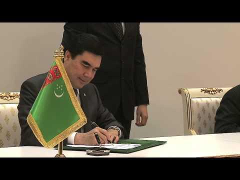 OCA, ONOC sign memorandum for 5th AIMAG Ashgabat 2017