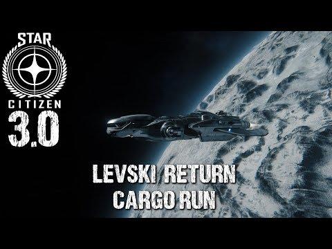 Star Citizen 3.0 | Full Cargo Run to Levski