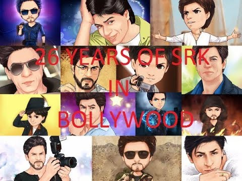 Shahrukh Khan's Journey In Bollywood - 26 Years Of SRK - Must Watch Video