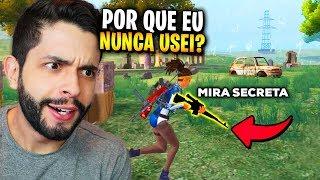 DESCOBRI O SEGREDO?!? ESSA ARMA FICOU SUPER FORTE NO FREE FIRE!