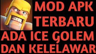 Clash of clans Mod Apk VERSI Terbaru Ada Kelelawar/Ice Golem