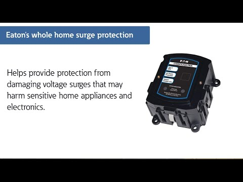 Complete home surge protection demonstration