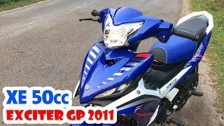 Exciter 50cc GP kiểu 135cc 2011 ▶ Tiếng Pô, Test Max Speed và Đánh giá xe dành cho Học sinh