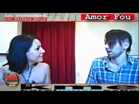 VIVA LA RADIO! NETWORK - AMOUR FOU AL KAREL MUSIC EXPO' 2011 - CON BARBARA MANCA