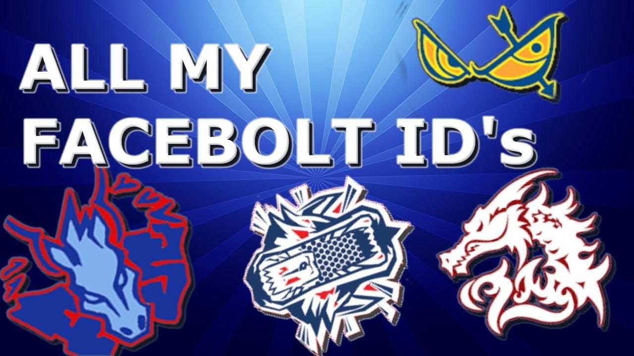 All My Facebolt Id S L Roblox Bleyblade Rebirth Youtube