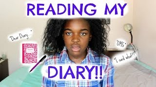 READING MY DIARY | MARIELOUISE101