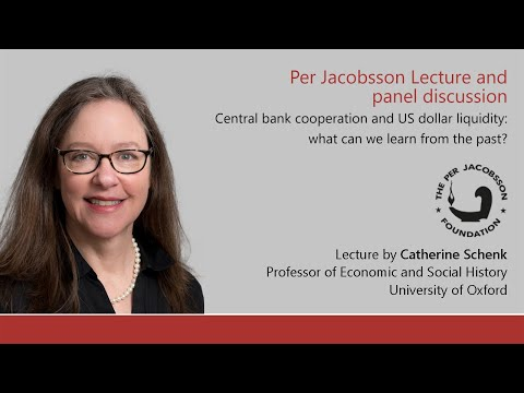 Per Jacobsson Lecture and panel discussion