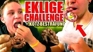 EXTREM EKLIGE CHALLENGE + KOTZ-BESTRAFUNG!