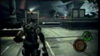 Resident Evil 5 (Final Boss (Wesker) / First Part) -XBOX 360-