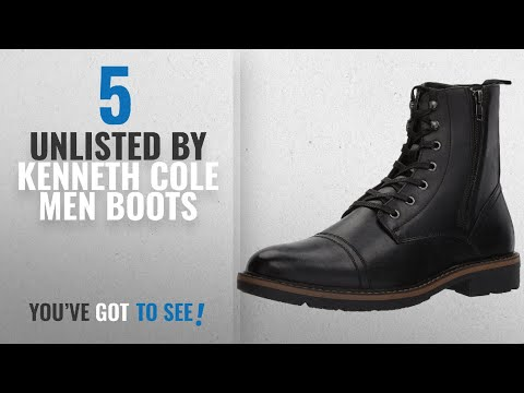 Top 10 Unlisted By Kenneth Cole Men Boots [ Winter 2018 ]: Unlisted by Kenneth Cole Men's Design