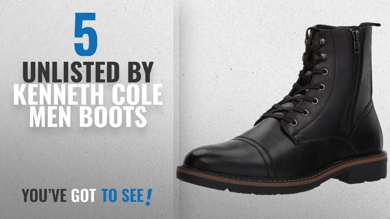 2103cffb69 Top 10 Unlisted By Kenneth Cole Men Boots   Winter 2018    Unlisted ...