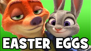 ZOOTOPIA All Easter Eggs, References & Hidden Mickeys - Zootropolis