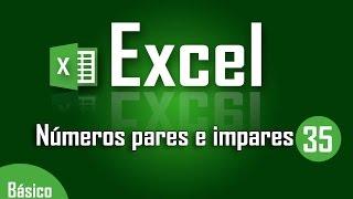 Curso de Excel: Números pares e impares en Excel