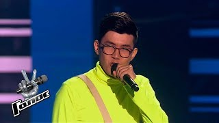 Ildar Abdullin performs I Put a Spell on You - Blind Auditions - The Voice Russia - Season 8
