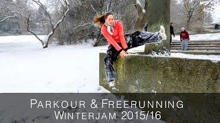 Parkour & Freerunning Winterjam 2015/16 | Parkour Vienna