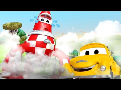 Эвакуатор Том - Ракета - Автомобильный Город  🚗 детский мультфильм