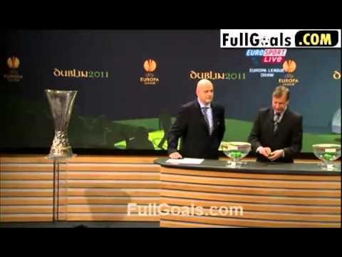 Bốc thăm europa Leage 2011 draw