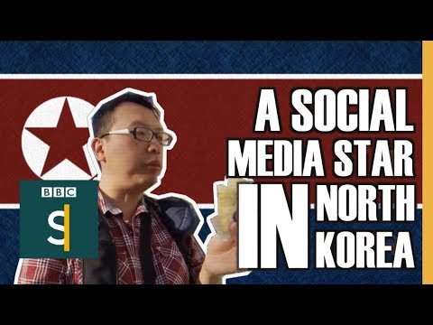 A social media star... in North Korea - BBC Stories