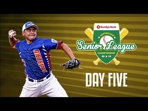 Bendigo Bank Australian Senior League Championship, DAY FIVE #ASLC2018