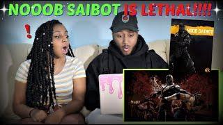 "Mortal Kombat 11 ""Official Noob Saibot Reveal Trailer"" REACTION!!"