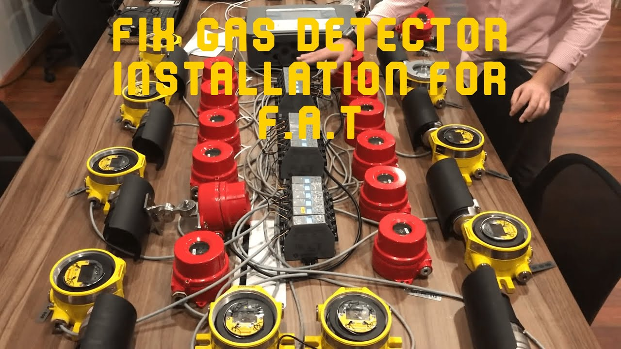 Fix Gas Detector Installation For Fat