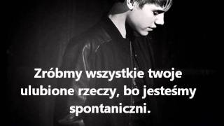 Justin Bieber - Lonely Lady With The Big Brown Eyes (tłumaczenie PL)