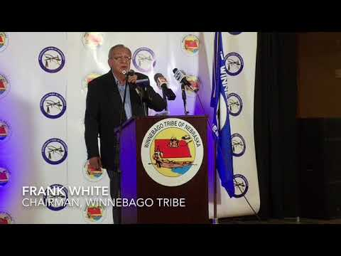 """Winnebago Chairman Frank White: """"The number one issue ... is the care of our relatives."""""""