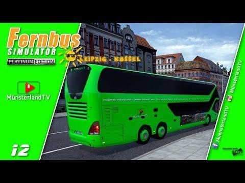 🚍 Fernbus Simulator Platinum   ▶12 Leipzig-Kassel 🚌Tagfahrt   Neoplan Skyliner repaint   Busfahrer