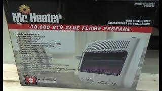 Mr. Heater    30,000 BTU Blue Flame Propane Ventless Heater