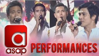 ASAP: Jake, Sam, Piolo, and Gerald perform OPM songs