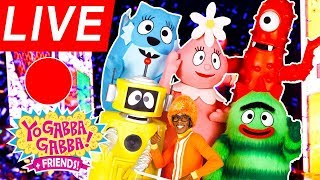 🔴LIVE Yo Gabba Gabba! Family Fun - Just Dance Kids 2018 ★ Kids Songs ★ DJ LANCE ROCK ★ BABY SONG