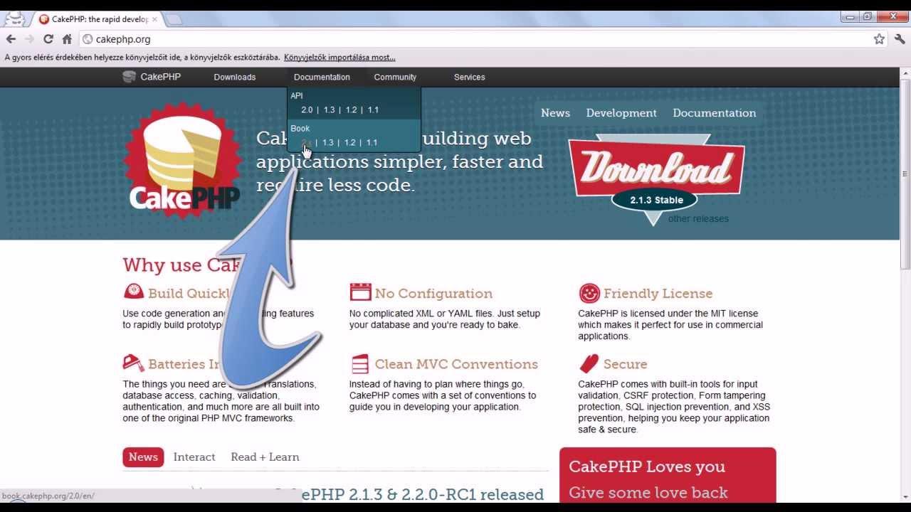 Cakephp basics tutorial part 1 of??? On vimeo.