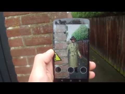 Augmented Reality outdoor tracking