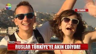 Ruslar Türkiye'ye akın ediyor!