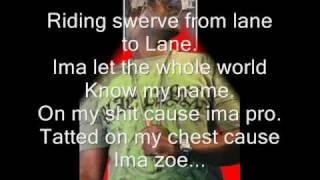 Ima zoe lyrics-Black AKA Da Da