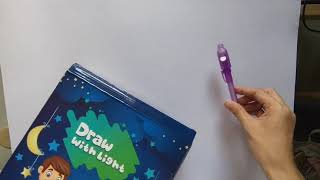 Draw with Light   H๐me school activity