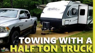 Towing with a half ton truck ... safely   My RAM 1500 Outdoorsman