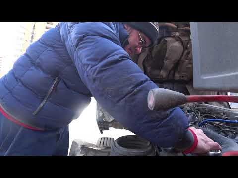 Как быстро проверить схождение колес на грузовике,на примере Mazda Titan