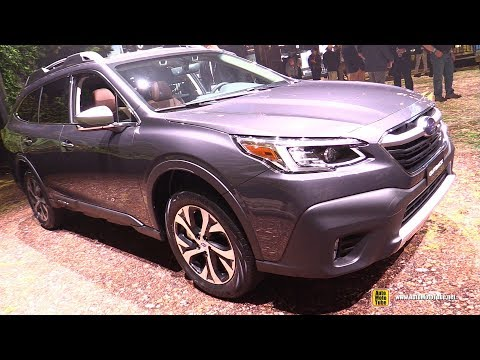 2020 Subaru Outback Touring - Exterior and Interior Walkaround - Debut at 2019 NY Auto Show