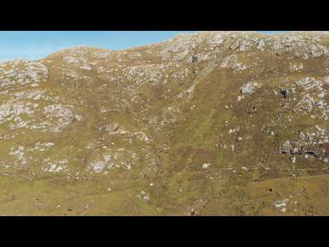 Stunning Assynt Scottish Highlands 4k drone