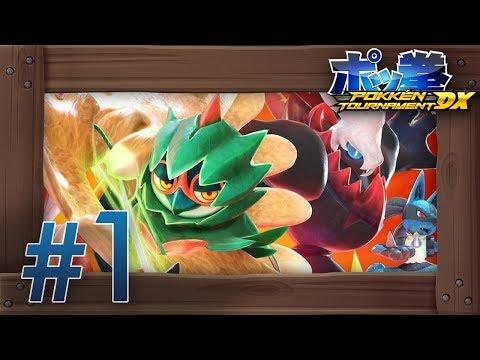 Pokkén Tournament DX Walkthrough Part 1 | Green League (Decidueye Gameplay) Nintendo Switch