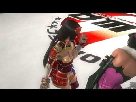 【DOA5LR Ryona】NAOTORA 井伊直虎 タッグ技 リョナ【vs Lisa& Hitomi Romero Special】