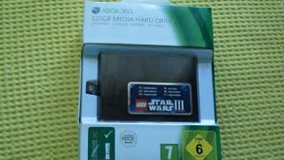 Розпакування Hard Drive для Xbox 360 S 320GB