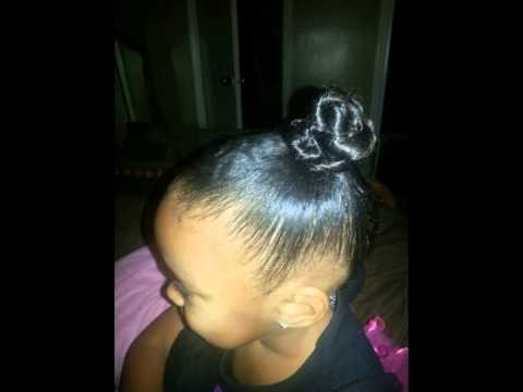 Mixed Girls Hair Styles Easy And Beautiful Youtube
