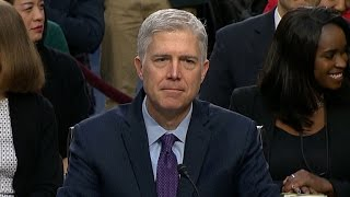 "Neil Gorsuch on Trump: ""No man is above the law"""