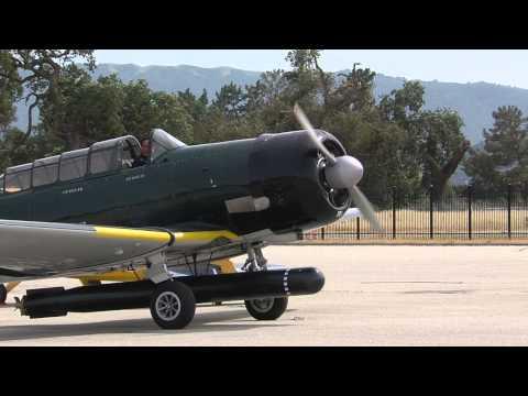 North American T-6 Texan modified to resemble a Nakajima B5N Kate