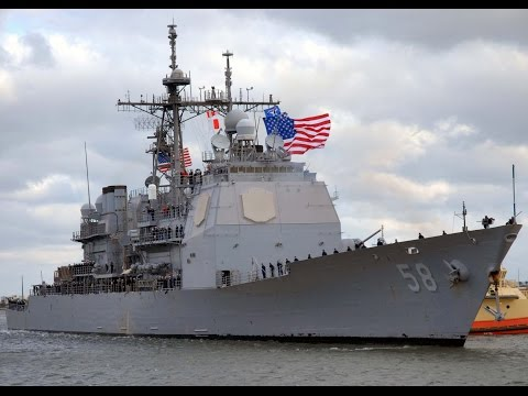 USS Philippine Sea (CG-58) 2001 Cruise Video